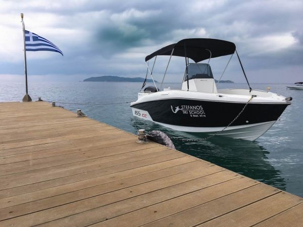 SKIATHOS BOAT HIRE Maria speed boat for rent