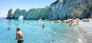 Boat Trips with a Driver in Skiathos . Lalaria Beach