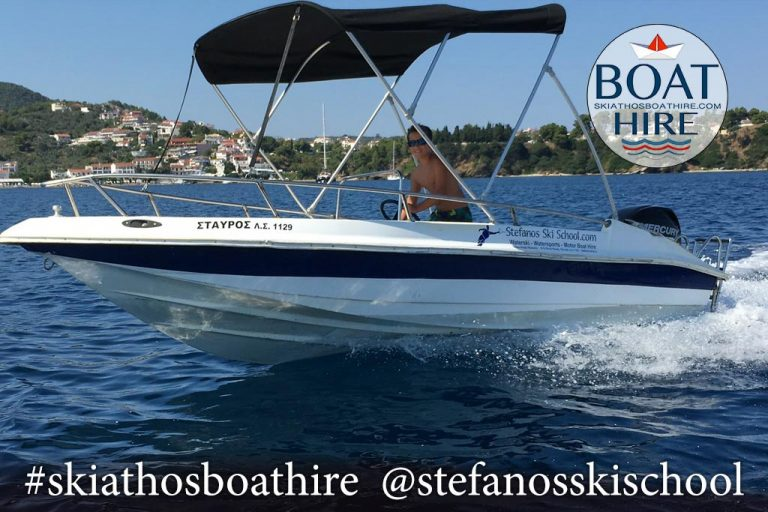 stavros boat for rent in skiathos