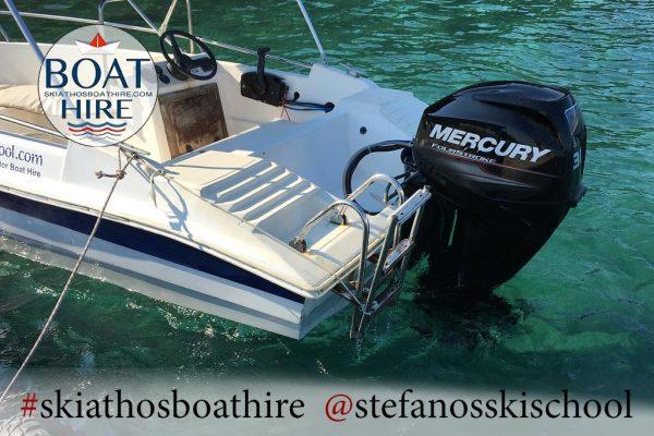 stavros boat for rent in skiathos