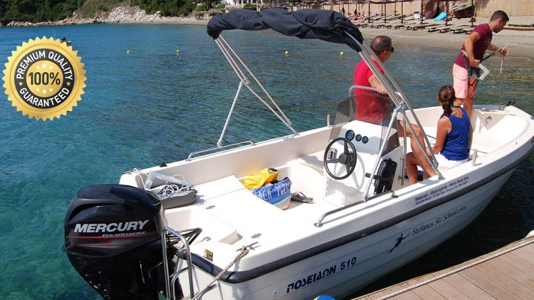 MOTOR BOAT FOR RENT GIANNIS in Skiathos