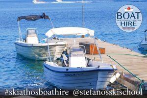 Katerina Motor Boat for rent in Skiathos