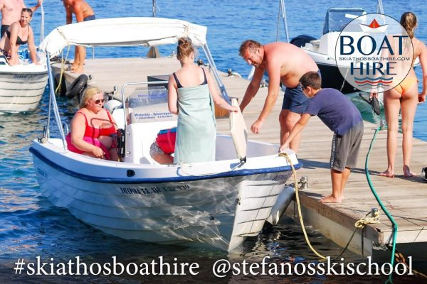 Katerina Motor Boat for rent in Skiathos