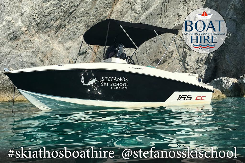 SKIATHOS BOAT HIRE MARIA Boat ,Compass165cc
