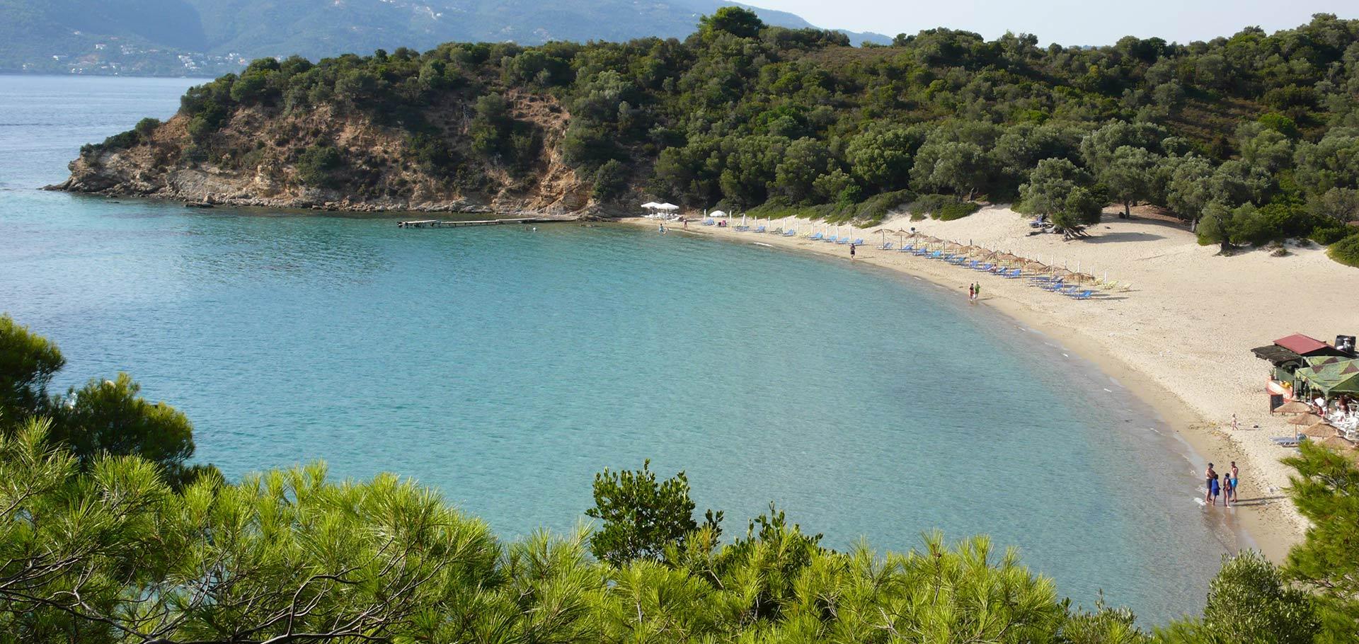 Rent a Motor Boat and explore Tsougria beach