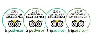 SKIATHOS BOAT HIRE Certificate of excellence for many years from trip advisor