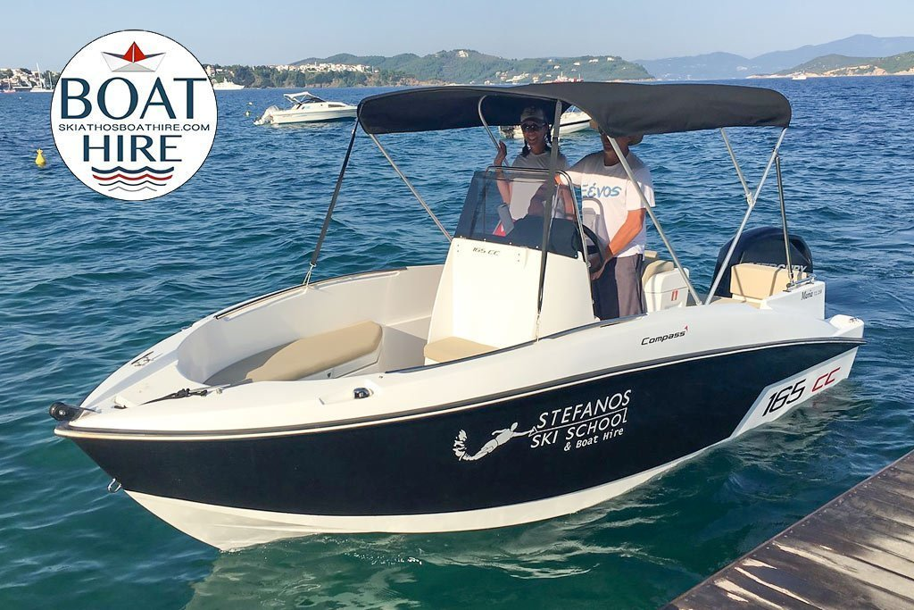 Compass 165cc .Speed boat for rent