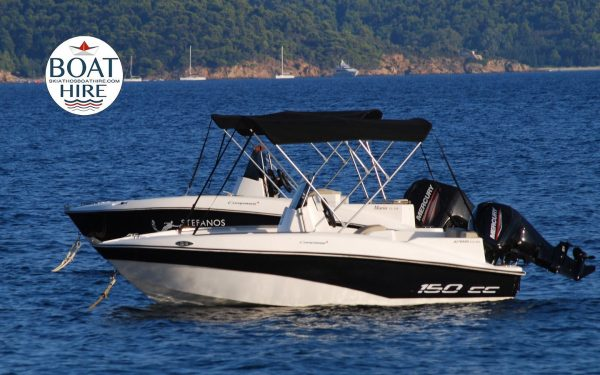SKIATHOS BOAT RENTAL-AGELOS BOAT FOR RENT by Compass boats