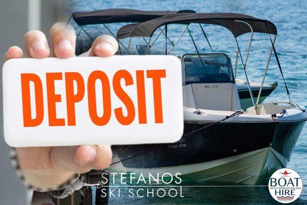 PAY DEPOSIT FOR BOAT RENTAL IN SKIATHOS