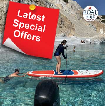 BOAT HIRE SPECIAL OFFERS